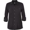 Royal Robbins Merinolux Traveler overhemd en blouse lange mouwen Dames zwart